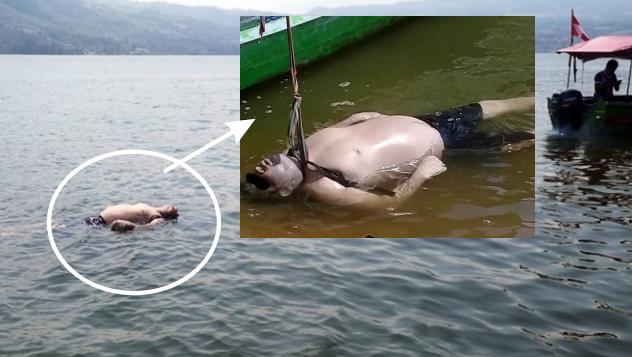 Hallan flotando cadáver en el lago Sauce: